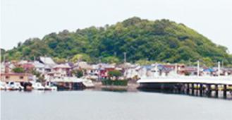 今の平潟湾と野島