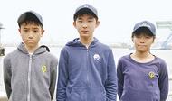 3選手が日本代表に