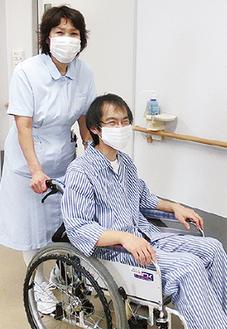 入院患者に寄り添ってサポートする