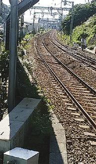 京急富岡駅から見えるほど近い能見台駅
