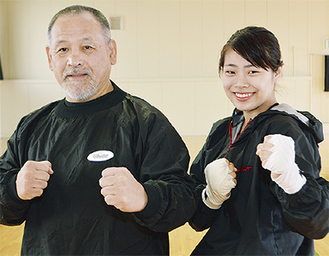 前田さん(右)と古澤監督