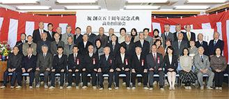 出席者で記念撮影(提供/(株)AIKAWA)