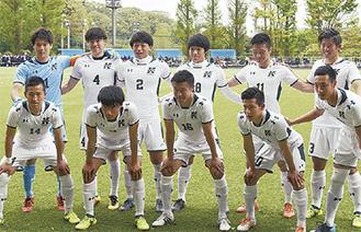 プロに挑む関東学院大サッカー部(同大提供)