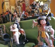100年前の五月人形展示