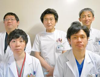 金沢病院整形外科の5人の医師