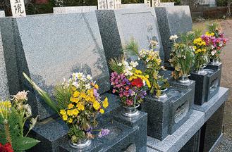 完成墓地は120万円〜