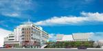 完成予想パース(右の建物が新公会堂)