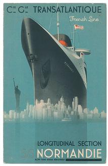 ノルマンディー断面図 表紙画:ウィルキン1936年頃