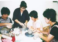 夏休みは陶芸に挑戦