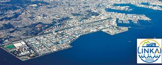 拠点が設置される金沢区臨海部