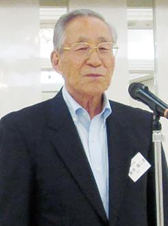 新井会長(横浜南間税会提供)