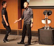 装着型歩ける椅子を開発