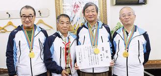 左から松岡さん、富樫さん、工藤さん、中さん