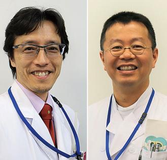 城倉副病院長と中居部長