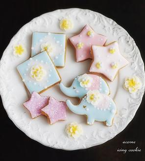 クッキーをデコレーション