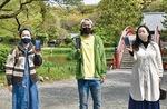 右から多田さん、二見さん、清水さん