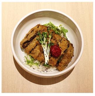 杉田梅のビフカツ丼(株式会社エクスポート提供)