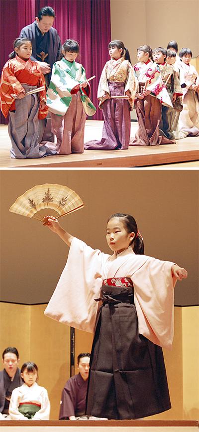 袴で稚児姿に変身