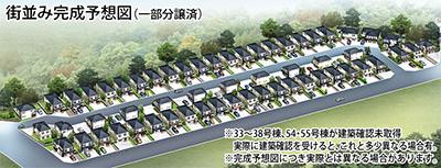 富岡に新築戸建て50邸