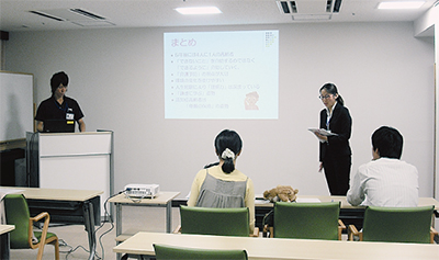 「横浜エデンの園」でミニセミナー開催