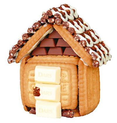 お菓子の家を被災地へ