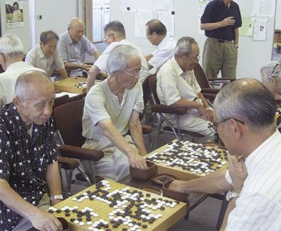 囲碁で充実人生を