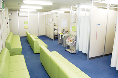 健診センターがリニューアル