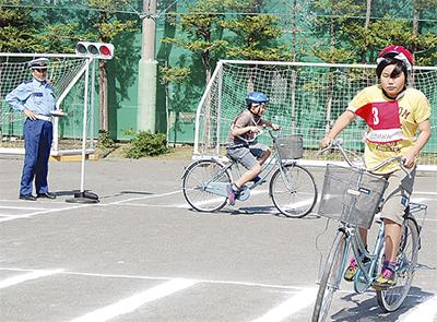 自転車マナーの改善を
