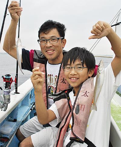 東京湾の恵み、釣りで学ぶ