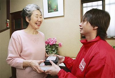 高齢者向けの在宅配食サービス