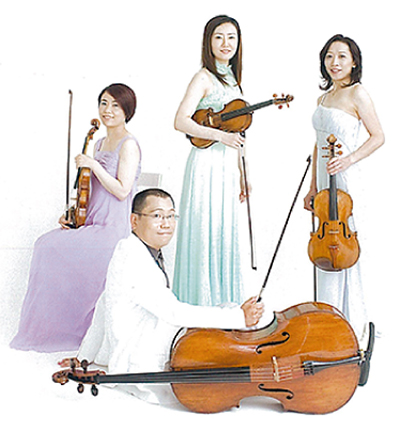 日本民謡を弦楽四重奏で