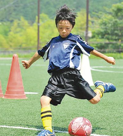 「人」を育てるサッカー