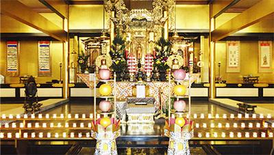 20万円からの本堂安置墓