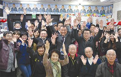 黒川氏初のトップ当選