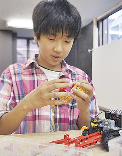 話題のロボット教室開校