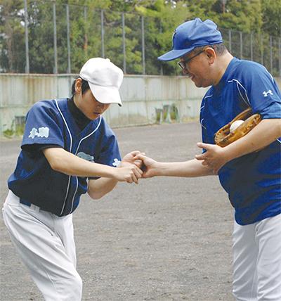 障害者野球チーム発足