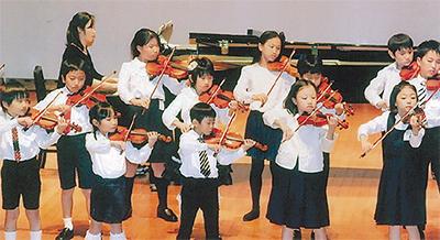 小さな音楽家の演奏会