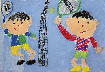 絵画で台湾と国際交流