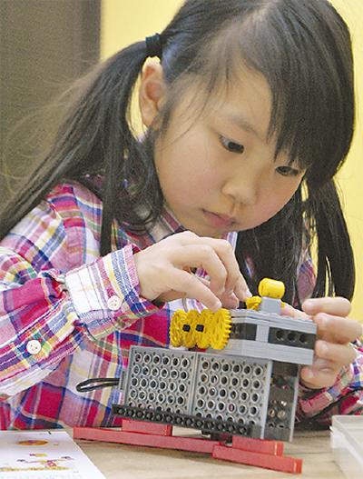 ロボット作りができる