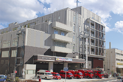 新金沢消防署が始動