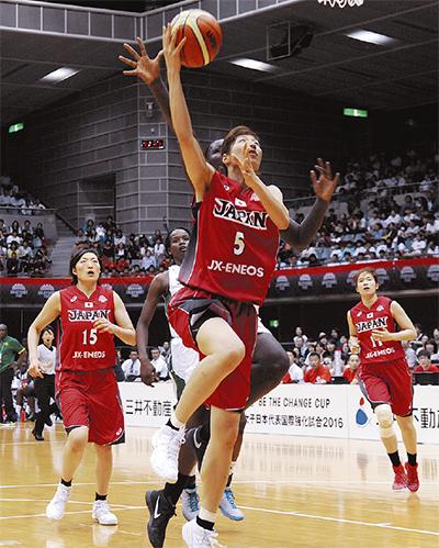 宮澤選手が11得点