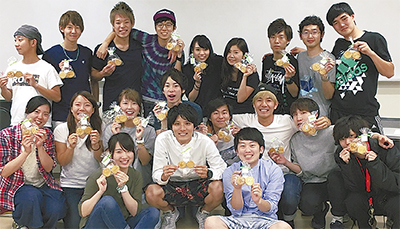 クッキー募金で熊本支援
