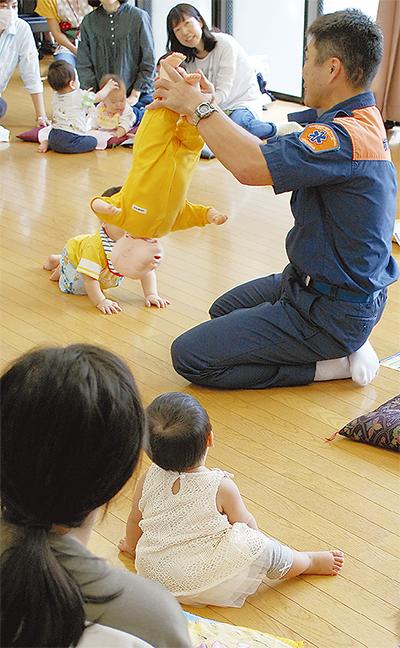 乳幼児の事故予防につなげ
