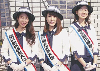 3人で横浜の魅力PR