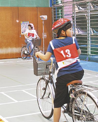多世代で自転車ルール学ぶ