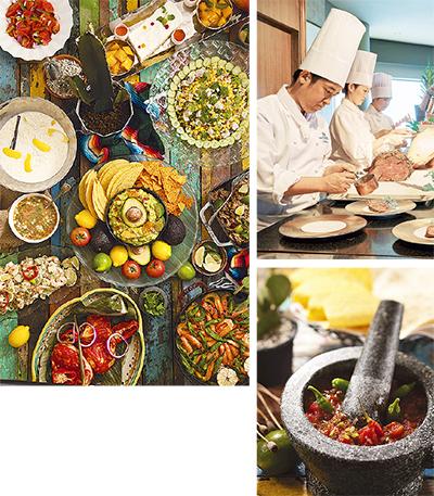 本場メキシコの美食ブッフェ
