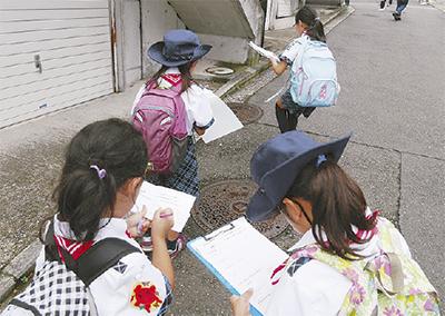 子ども目線の防災マップ