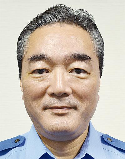 9月4日付で金沢警察署長に就任した 宮崎 哲也さん 金沢警察署勤務 55歳