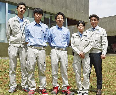 若手社員が活躍する建設会社