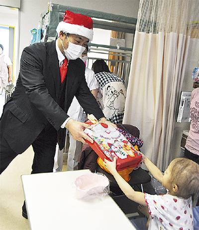 入院中でもクリスマスを